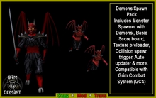Grim Demon Booster Pack (BOXED)