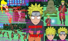 Naruto with HUD controller