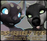 Dis-orderly eyeballs