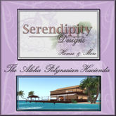 "Serendipity Designs - The ""Aloha"" Polynesian Hacienda - Deluxe Seaside Tiki Home"