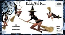 ::Foxy Fashions:: Enchanting Witch AO Flying Broom