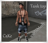 [>CaKe!<]]-Tank top Mesh Monkey