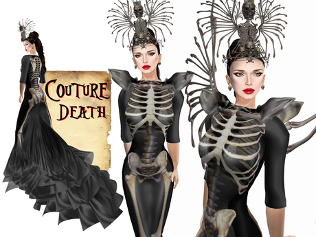 Boudoir Halloween -Couture Death