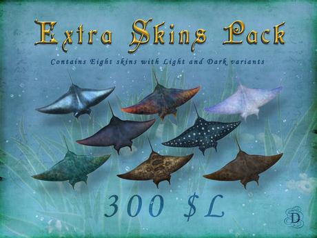 Manta Ray - Extra Skins Pack