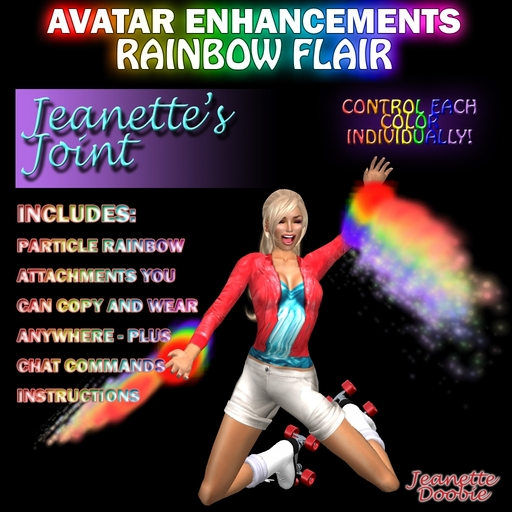 ~JJ~ Avatar Enhancements - Rainbow Flair