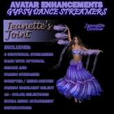 ~JJ~ Avatar Enhancements - Gypsy Dance Streamers