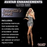 ~JJ~ Avatar Enhancements - Glitter Aura
