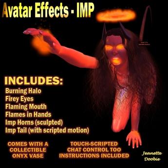 ~JJ~ Avatar Effects - Onyx Imp