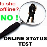 Simple ONLINE STATUS TEST | ** E-Mail & Inworld notification ** | online tracker online-status test