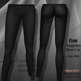 DE Designs-Leggings- Black *Mesh*