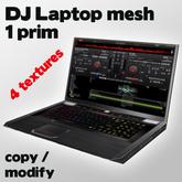Dj Laptop Mesh | 1 prim