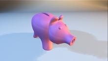 Mesh Piggy Bank