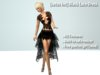 [satus Inc] Black Lace Dress