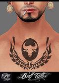 ::Fe Style:: Bull Tattoo