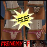 Frenemy - Kawaii G-Strings - Collection 2