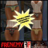 Frenemy - Kawaii G-Strings - Collection 3