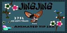 Jingjing Animated Tip Jar