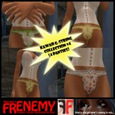 Frenemy - Kawaii G-Strings - Collection 4
