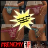 Frenemy - Kawaii G-Strings - Collection 8