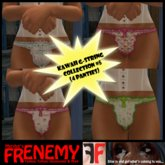 Frenemy - Kawaii G-Strings - Collection 5