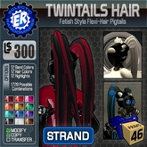 ER TwinTails Hair 'Strand'