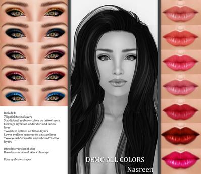 Bilo- Nasreen Skin (Demo of All Colors)