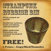 Steampunk Rubbish Bin