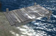 Wooden Boat Dock, Pier, Bridge or Walkway (MC)
