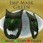 Imp Mask (Green)