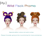 [ity.] Wild Pack Promo (3 Chinese Hairstyles)