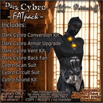~JJ~ Petitestuff Dark Cybro FATpack