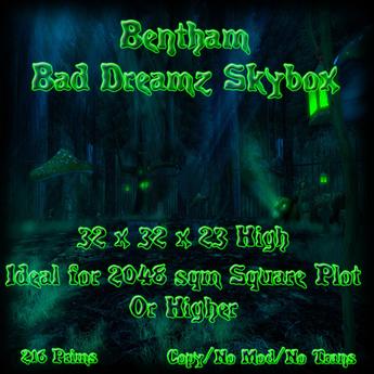 Bentham Bad Dreamz Skybox 2048sqm Plot BOXED