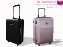 Full Perm Mesh Travel Suitcase with Animations and AO script Set  - Builder's Kit