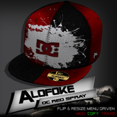 Alofoke!  -  DC Red Spray Cap