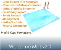 WELCOME MAT v2.0 (Email Edition)