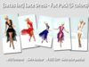[satus Inc] Lace Dress - Fat Pack (5 colors)