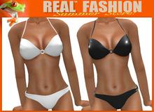 Bikini mesh rigged black and white set