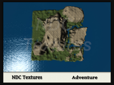 [NDC] Terrain Map - Adventure.  Licenced for all compatible grids.