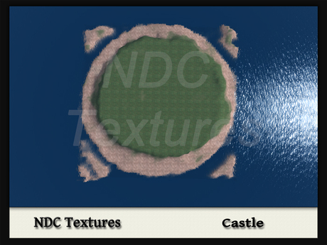 [NDC] Terrain Map - Castle. Licenced for all compatible grids.