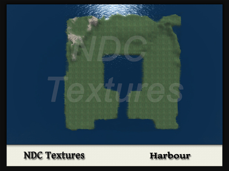 [NDC] Terrain Map - Harbour.  Licenced for all compatible grids.
