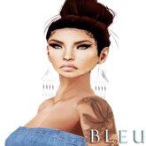 - B L E U - Dangle Baby Earrings SILVER (BOXED)