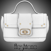 Fleshtone :: Azealia Mini-Bag [White]