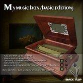 [Black Tulip] Script - My Music Box - Basic Edition
