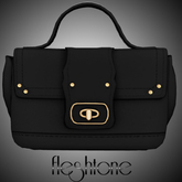 Fleshtone :: Azealia Mini-Bag [Black]