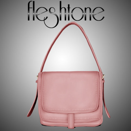Fleshtone :: Karmen Satchel Bag [Blush]