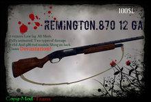 12 Gauge Remington 870 Pump Shotgun