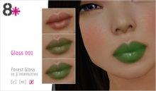 8+ // Makeup - Gloss 001 [Forest]