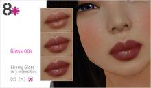 8+ // Makeup - Gloss 001 [Cherry]