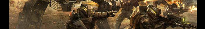 640x390 6199 warhounds 2d sci fi mech soldiers war battle picture image digital art