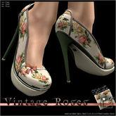 Topaz Square~Vintage Roses~Victorian Romance~Heels